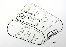 Fucking alarm every fucking morning fucking clock fucking alarm. (Yo know what I mean)