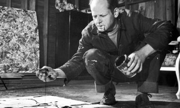 Jackson Pollock acting from (being) nature.
