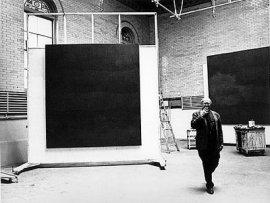 Rothko reaching black.